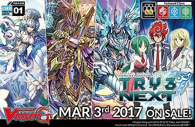Cardfight Vanguard TCG - TRY 3 NEXT Character Booster x 12