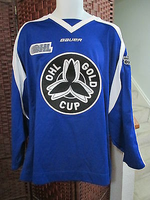 Bauer OHL Gold Cup Hockey Jersey Size Senior XL WOW Canada Ontario GTHL