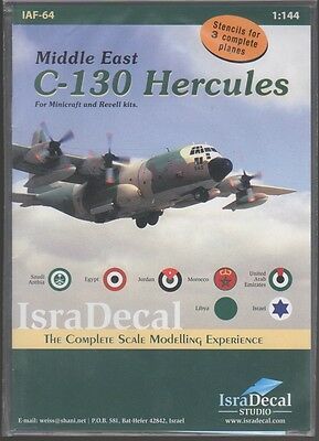 C-130 Hercules Middle East Isra Decal Iaf-64 1/144