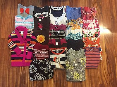 Girls sz 6 7 8 All Seasons Clothing GYMBOREE Naartjie GAP E Land Lot 25 Pieces