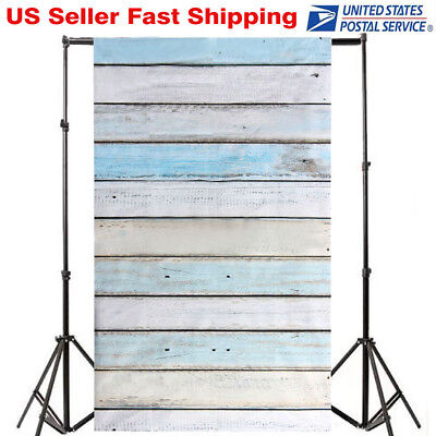3x5FT Photography Backdrops Colorful Wooden Wall Floor Background Studio Props