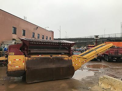 1998 Extec Robotrac 7000 Dirt Screener