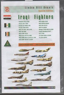 Iraqi Fighters Linden Hill Decals 48019 1/48