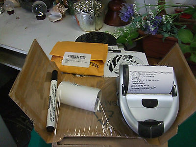 Zebra MZ 320 Mobile Thermal Printer with battery, CD Driver No Charger Open box