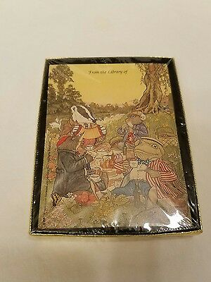 NOS Antioch Publishing Bookplates Ichabod and Mr. Toad Nice Bookplates New in Bo