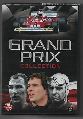 New SEALED. Grand Prix Collection of 10 DVD's