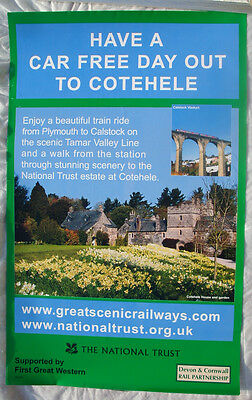 National Trust First Great Western Cotehele House Calstock Viaduct Cornwall post
