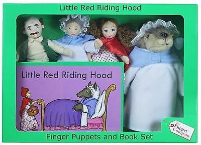 The Puppet Company - Traditional Story Sets - Little Red Riding Hood Puppet Set