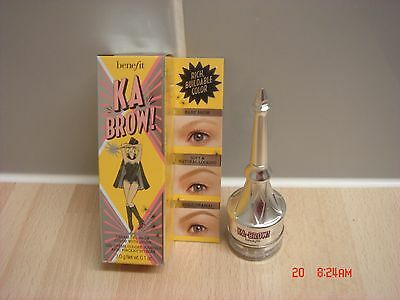 Benefit ka-BROW! Eyebrow Cream-Gel color NO 5 New Boxed full size 3.0g