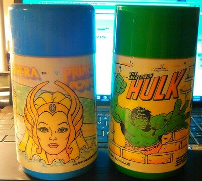 vintage thermo bottle Aladdin lot of 2