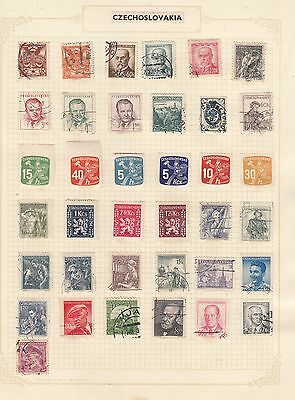 CZECH REPUBLIC Selection  Stamps Interesting Selection.,