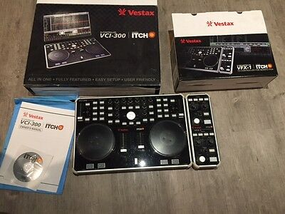 Vestax VCI-3000 ITCH with VFX-1 Effects Unit boxed Serato