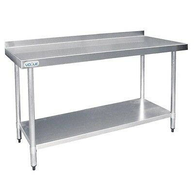 Vogue Stainless Steel Prep Table EBT383-A
