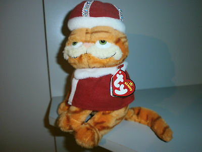 Garfield  ' His Majesty ' Ty Soft Toy  + Tags