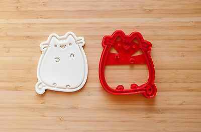 Pusheen the cat. Cookie cutters. Facebook