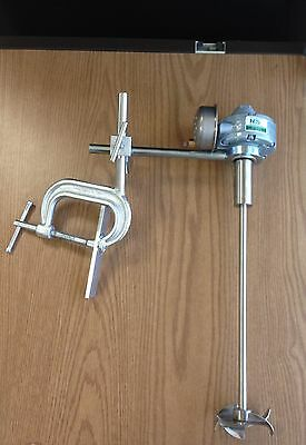 C Clamp Air Operated Mixer