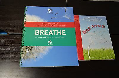 Girl Scout Cadette Breathe Journey Book And Adult Guide