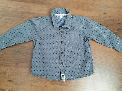 TED BAKER DESIGNER BABY BOY LONG SLEEVE SHIRT Age 6-9 Months