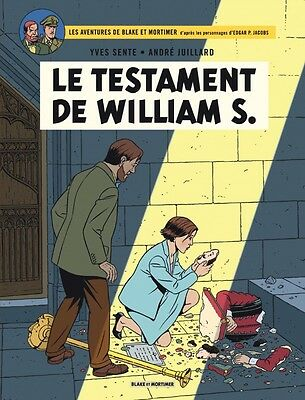 -- BLAKE et MORTIMER -- LE TESTAMENT DE WILLIAM S. -- T24 -- EO --
