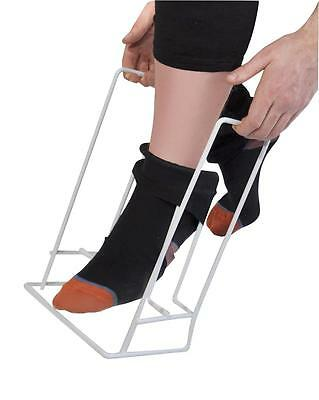 Rigid Sock And Stocking Helper - Sock and stocking dressing aid - Sock aid.