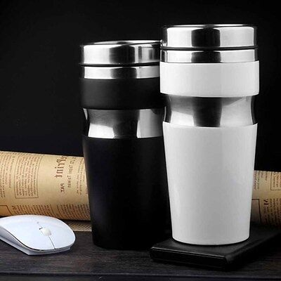 Car Stainless Office Tumbler Bottle Thermoses Coffee Cups Steel Insulated