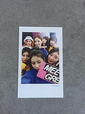 DIA Spell Mr Potter Mwave Special Polaroid Style Photocard Kpop Rare