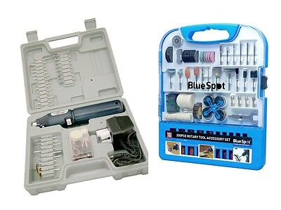 Cordless Dremel Type Hobby Rotary Mini Tool Drill + Case + 260 Accessories