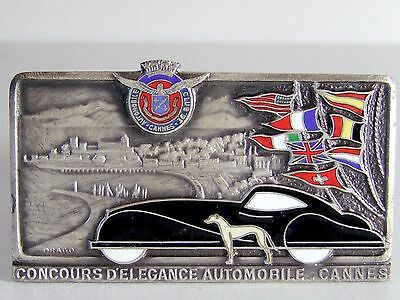 1930 automobile club de cannes trophée mascotte car mascot hood ornament art