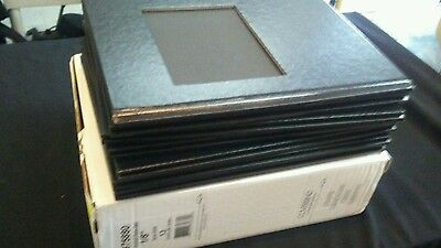 """Coverbind 1/8"""" Black Ambassador with Window Hard Covers 13pk - 675880 NEW"""