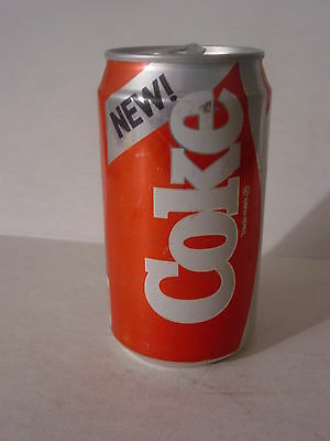 """1985 """"NEW!"""" 12oz. 354ml. COKE CAN ( CLEVELAND,TENNESSE ) TOP OPENED"""