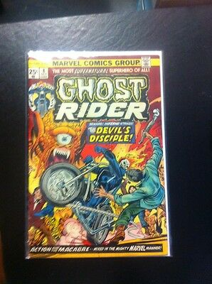 Ghost Rider 8VF GREAT COLOR FLAT SHARP