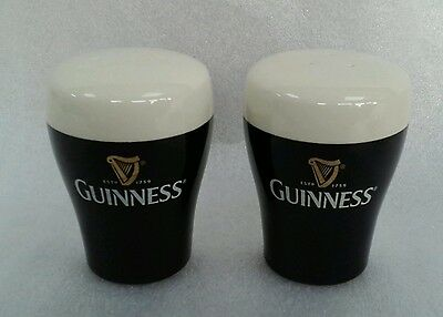 Unusual Guinness Salt And Pepper Cruet Set - Guinness Collector