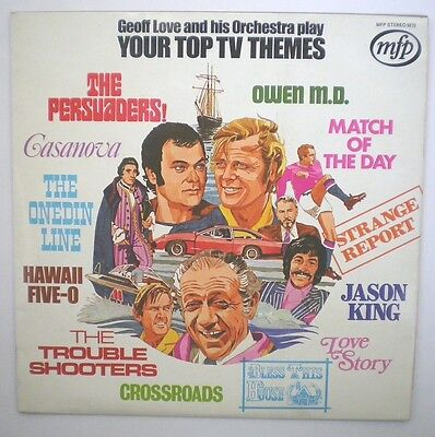 Geoff Love And His Orchestra Play Top Tv Themes