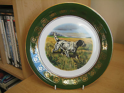 Lightwood English Setter Collectors Plate