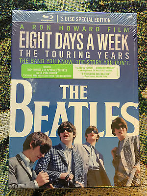 Beatles Eight Days A Week Ron Howard Blue Ray Factory Sealed With Special Stuff!