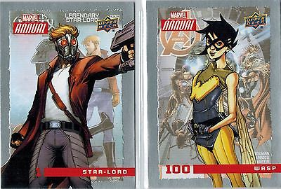 Marvel Annual: Base Set of 100 Cards