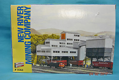 Walthers Cornerstone New River Mining Company N Scale Structure Kit 933 - 3221