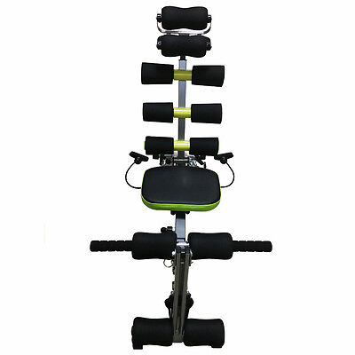 6-in-1 WONDER MACHINE CORE AB FITNESS HOME EXERCISE EQUIPMENT TONING GYM WORKOUT
