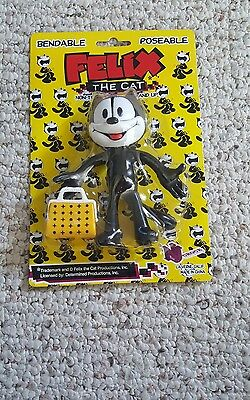 Felix The Cat Bendable/Poseable New in Package