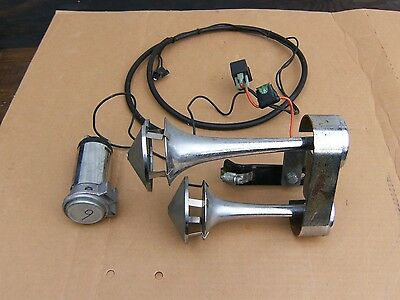 harley or other air horn ratty bike rat rod chopper bobber touring low nr buy 2