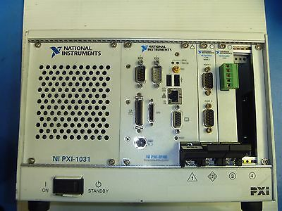 National Instruments PXI-1031 Chassis with (PXI-8186, 2X PXI-8461)