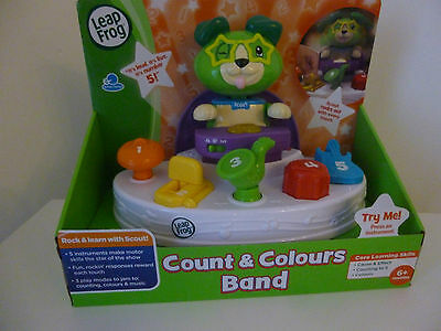 LeapFrog Count & Colours Band Electronic Learning Gift Baby Kids Toy
