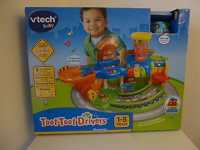 VTech Baby Toot-Toot Drivers Garage Childrens Toys Baby Girls Boys Tow-Truck