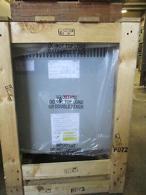 GE 25 KVA 3 Phase 208x120/240 Volt Transformer- T1285- NEW