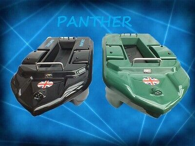Panther  Bait Boat In Black With Deluxe Carry  Bag