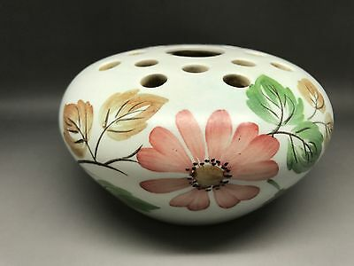 Vintage Radford Hand Painted Pottery Floral Posy Bowl