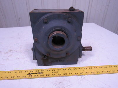 Hub City 382 Gear Box Speed Reducer 40:1 Ratio Right angle Worm Gear Style A