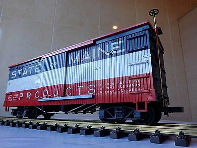 LGB 4067 STATE OF MAINE boxcar G Scale