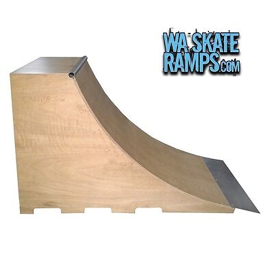 QUARTER PIPE SKATE RAMP 4 FT HIGH x 4 FT WIDE