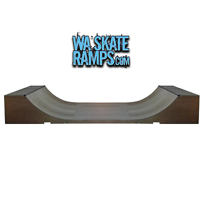 3Ft Mini Ramp / Half Pipe Skate Ramp  3 Ft X 6 Ft